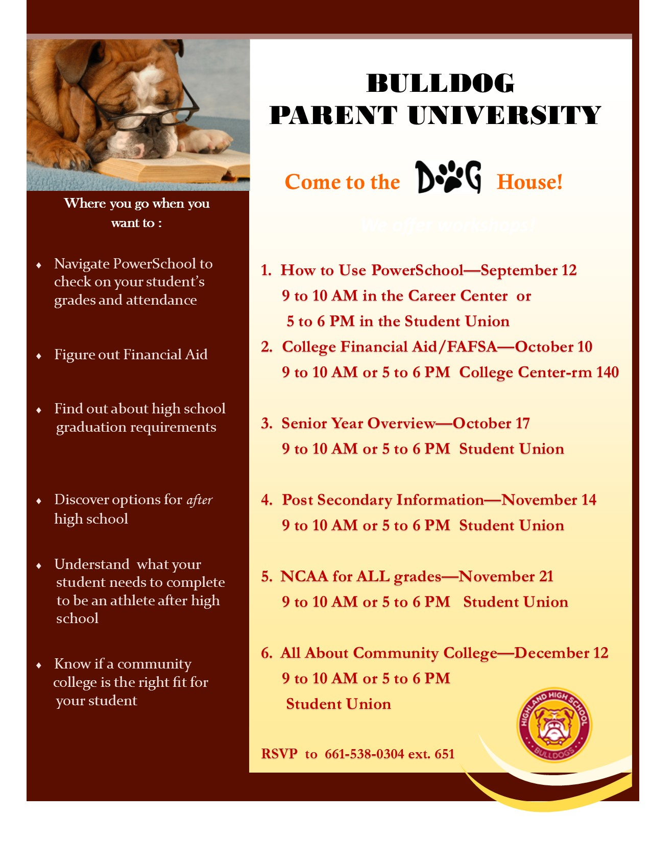 Bulldog Parent University